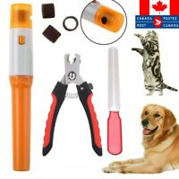 Electric/Handy Pet Nail Grinder Claw Grooming Trimmer Paws Clipper Dog Cat Care