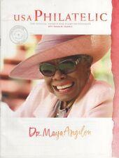 Maya Angelou 2015 Usa Philatelic Magazine Catalog stamps Harvey Milk Heston Usps