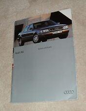 Audi A6 Saloon & Estate Car Brochure 1994 - S6 2.0 2.6 2.8 Quattro 2.5 TDI