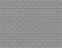 O Scale Stone Blocks Model Train Scenery Sheets –5 Seamless 8.5x11 Coverstock