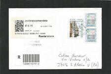 storia postale repubblica  fiume del 2007 viaggiato 2 mesi prima dell'emissione