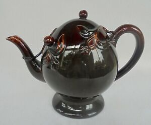 ANTIQUE CHINESE CADOGAN TEAPOT OR WINE POT