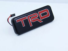 LED TRD Light Emblem Car Front Grille Badge For Toyota Camry Corolla Yaris Decal