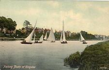Sailing Boats Kingston on Thames unused old pc Mirror series