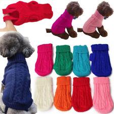 Haustier Hund Katze Strickjacke Mantel Kleidung Hoodie Pullover Warm Kostüme