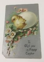 "Antique Easter Embossed Greeting Card Raphael Tuck & Sons ""Easter Postcards"" 101"