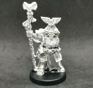 Warhammer 40k Space Marines Librarian Epistolary Metal OOP 1994