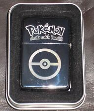 Engraved Silver Pokemon Lighter. Birthday Present Gift Xmas Christmas Brother