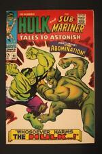 Tales to Astonish 91 - 1st App Abomination - Marvel Comics