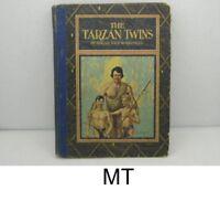 "1927 ""THE TARZAN TWINS"" BY EDGAR RICE BURROUGHS / 2nd ED. HARDCOVER / 126 PGS."