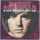 """Bobby Sherman """"Easy Come, Easy Go"""" Sample Copy P/C 45 Single Vinyl"""