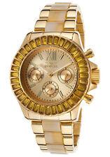 New Ladies Invicta 17492 Angel Exotic Two Tone Gorgeous Bracelet Watch