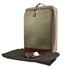 Authentic HERMES Caleche Express Cabine Carry Bag Toile H Tech Gray JT05307