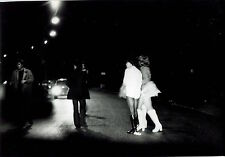 5 Photos Michel Giannoulatos - Prostitution - Bois de Boulogne - 1970 - Rixe -