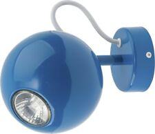 Beau Applique Murale Bleu GU10 Rétro Mur Lampe Murale Salon Intérieur
