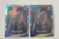LOT Josh Jackson Optic SILVER HOLO PRIZM RATED ROOKIE #197 +RED YELLOW PSA 10??