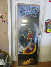 Vintage 1995 Extreme Zombie Surfer LARGE poster 9955