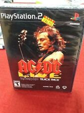 AC/DC Live: RockBand Track Pack  (PS2 2008) BRAND NEW SEALED SHIPS NEXT DAY