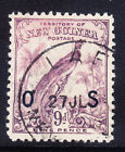 NEW GUINEA 1932 SG052 9d violet (no dates) opt OS very fine used. Catalogue £48