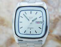 Seiko 5 Automatic Mens Day Date Pristine Made In Japan Vintage Watch 1970s T2K23