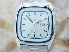Seiko 5 Automatic Mens Day Date Pristine Made In Japan Vintage Watch 1970s T2K25