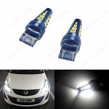2x T20 7440 7443 White 5W 48SMD LED Bulb Sidelight Reverse Stop Brake Light Lamp