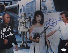DAPHNE ZUNIGA & MEL BROOKS Authentic Hand-Signed SPACEBALLS 11x14 Photo(JSA COA)
