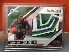 2010-11 Panini Absolute Mark Aguirre Jumbo Patch #'d 5