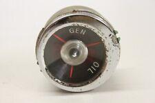 Original 1959 1960 Chevrolet Impala Belair Biscayne Oil Pressure Generator Gauge