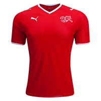 New Authentic Mens Puma Switzerland 08/10 Home Jersey Football Maillot Suisse XL