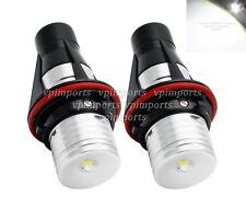 Cree LED Xenon White Angel Eye Bulbs Halo Rings For BMW E39 E87 E60 E63 E64 E53