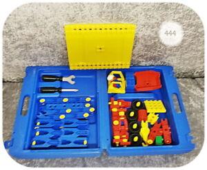 Lego Duplo Toolo >> Koffer 2960 <<  m. Bauplatten, Toolo-Teilen und Werkzeug