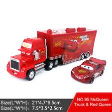 Disney Pixar Car No.95 Mack Racer's Truck & Lighting Mcqueen Toy Model Car Gift