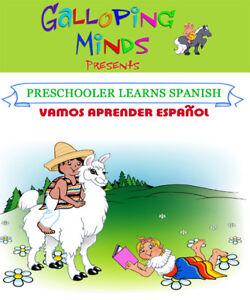 BABY, SPANISH DVD, BRAINY CHILD, TODDLER, NEW, Preschooler, CHRISTMAS GIFT AWARD