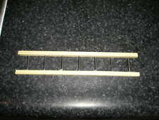 """1- 7 1/4"""" X 1 3/8"""" SPECIAL WOOD LADDER NYLINT-  STRUCTO- HUBLEY-  AND OTHER TOYS"""