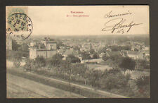 SURESNES (92) VOIE FERROVIAIRE & VILLAS en 1906