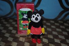 Hallmark Disney Minnie Mouse Classic Style Pie Eyed Mickey's Sweetheart Ornament