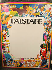 """Falstaff Beer Poster, Sports """"Because We're All In This Together"""" Langeneckert"""