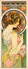1899 La Primevere Vintage French Nouveau France Poster Print Advertisement