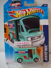 2011 WIN Hot Wheels BREAD BOX #171∞TURQUOISE GREEN∞Worldwide Delivery∞City Works