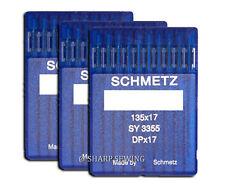 30 SCHMETZ 135X17 #22 SEWING MACHINE NEEDLES fits SAILRITE BIG-N-TALL