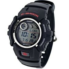 "Casio ""G-Shock"" 200 Meter Watch, Black Resin Strap, Alarm, Date, G2900F-1V"