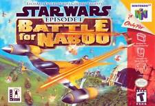 Star Wars Episode I Battle For Naboo N64 Great Condition Fast Shipping