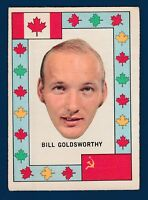 BILL GOLDSWORTHY  72-73 TEAM CANADA O-PEE-CHEE 1972-73  VGEX 2