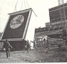 YANKEE STADIUM BRONX NEW YORK SCOREBOARD COMING DOWN DURING REMODELING 1970'S