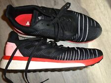 Adidas Black and infrared Boost shoes size 10.5