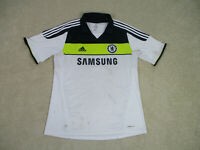 Adidas Chelsea Soccer Jersey Adult Extra Large White Blue Futbol Football Men *