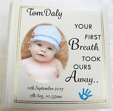 Personalised Photo Album, Memory/Guest Book, Newborn, Baby, (6 x 4) 300 photos