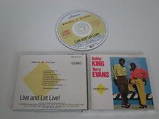 BOBBY KING & TERRY EVANS/LIVE AND LET LIVE!(MARAT RECORDS MARAT CM 11) CD ALBUM