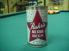 Rahr's All Star Beer Flat Top Beer Can (air sealed)